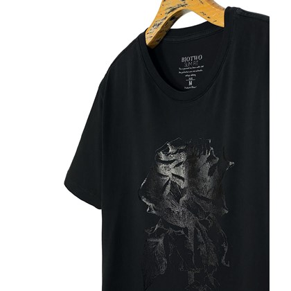 30255 - CAMISETA BLACK ROSE FOIL - BIOTWO
