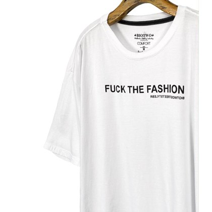 30257 - CAMISETA FUCK THE FASHION - BIOTWO