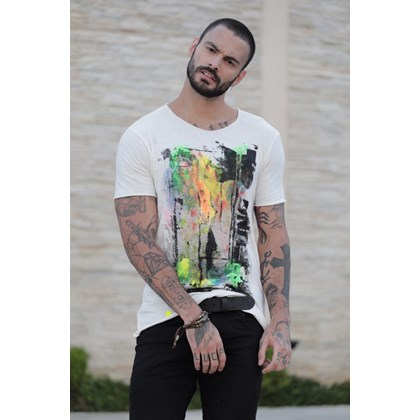 CAMISETA ABSTRACT ART