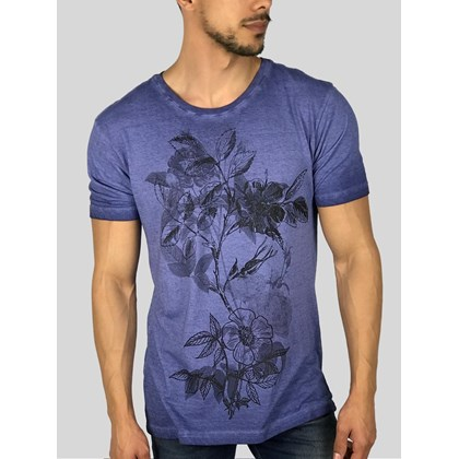 CAMISETA FLOWERS ART